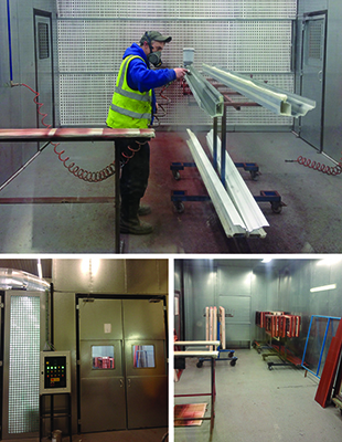 The increasing popularity of colour is highlighted as Modplan opens dedicated painting plant