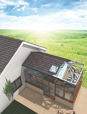 Connaught's FIT Show stand will showcase the options to customise a conservatory