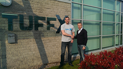 TUFFX NEW SPONSORSHIP DEAL IS A KNOCK OUT