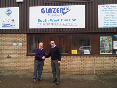 CHANGING OF THE GUARD AT GLAZERITE WITH NEW AREA MANAGER