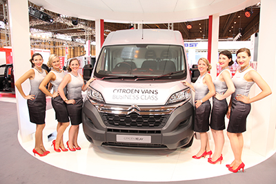 CITROËN TO SHOWCASE NEW RELAY VAN AT FIT SHOW