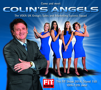 Hair flicks, high kicks and… valuable advice on building a better business! Meet 'Colin's Angels' at this year's FIT Show