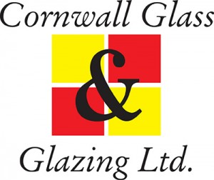 Cornwall Glass Large Logo - White Background