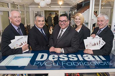 GREAT TURNOUT FOR DESSIAN SCOTLAND'S SHOWROOM OPENING