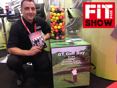 FACE OF FIT WINNERS HONOUR GRAHAM TAYLOR AT FIT SHOW 2014