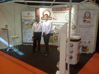 FIT SHOW 2014 DELIVERS PERFECT PLATFORM FOR FAIRTRADES/HOMEPRO TO INTERACT WITH ITS MEMBERSHIP BASE