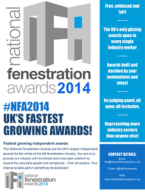 National Fenestration Awards Moves Into Next Phase