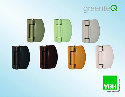 Additional greenteQ Hinge Colours