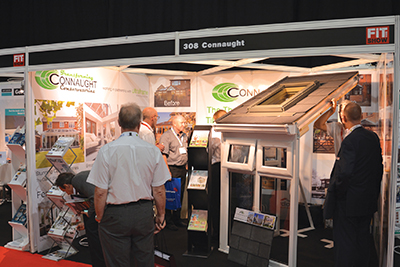 Connaught Conservatory Roofs reports strong FIT Show