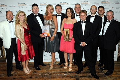 Liniar brand owner HL Plastics wins Company of the Year 2014