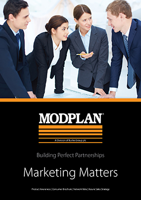 Proactive marketing helps Modplan customers benefit from the buoyant market