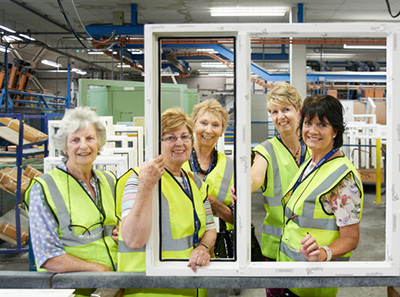 Wi Members Treated To Vip Day With Anglian Home Improvements Glass News