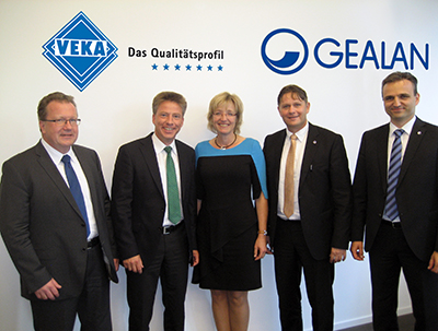 Acquisition of GEALAN by VEKA Group completed