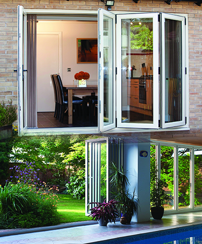 Frame Fast's bi-fold doors offer superior aesthetics, engineering and value