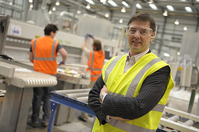Martin Dickie in the factory1