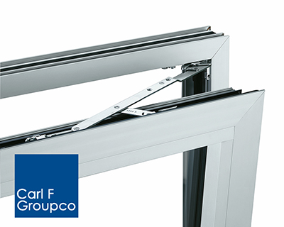 Siegenia aluminium series supplied  by Carl F Groupco