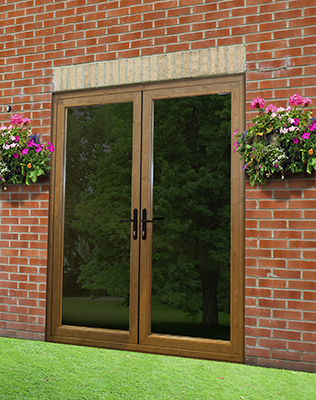 Imagine a beautifully-flush French Door from The VEKA UK Group