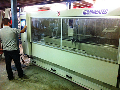 AWM HAS ROOM TO GROW WITH KOMBIMATEC MACHINING CENTRE AND SAW