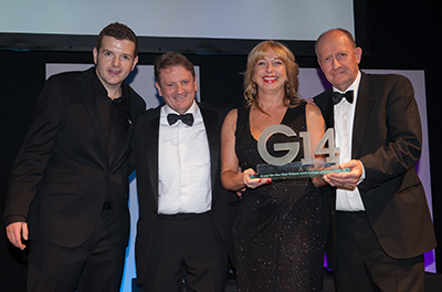Industry recognition for Polyframe at G14 Awards