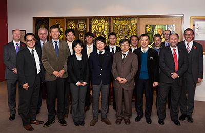 JAPANESE WINDOW INDUSTRY VISITS 'WORLD LEADING' BFRC