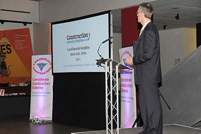 The Considerate Constructors Scheme helps to launch the Construction Industry Helpline
