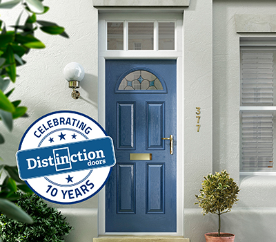 Distinction Doors celebrates 10 years in business