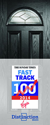 Distinction Doors named in Sunday Times Fast Track 100 list as one of UK's fastest growing companies