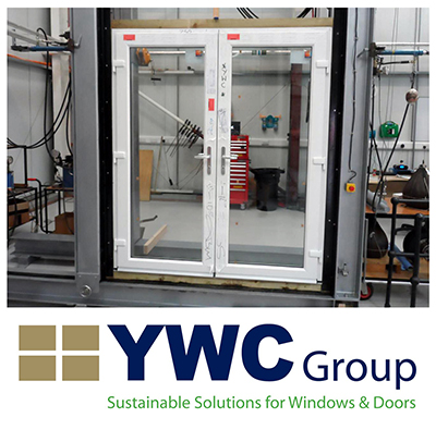 YWC Group's low threshold French Door passes the test for security and accessibility