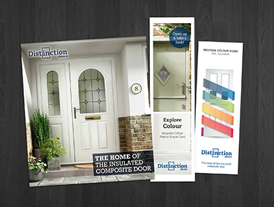Distinction Doors launches new retail marketing materials