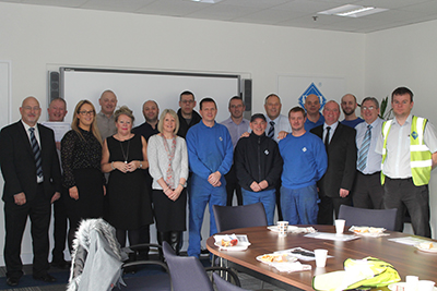 450 years loyal service recognised in awards from The VEKA UK Group