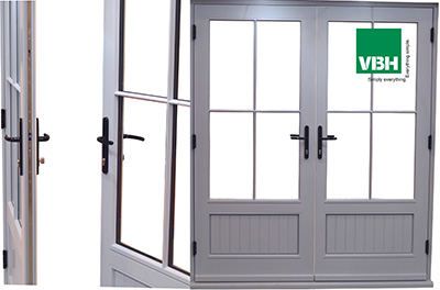 VBH Offer Mullion Free Solution for Timber Double Doors