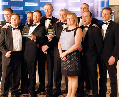 GLAZERITE GANG SHINE AGAIN WITH NEAR-RECORD NETWORK VEKA TROPHY WINS
