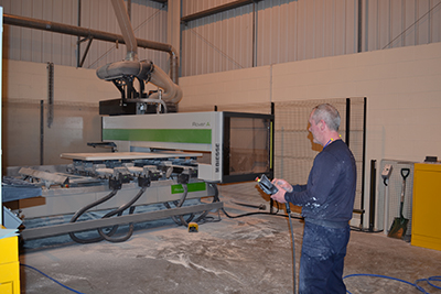 NEW CNC MACHINING CENTRE INCREASES COMPOSITE  PRODUCTION AT HURST
