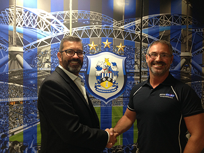 QUICKSLIDE AND HUDDERSFIELD TOWN AFC FORM THE PERFECT YORKSHIRE PARTNERSHIP