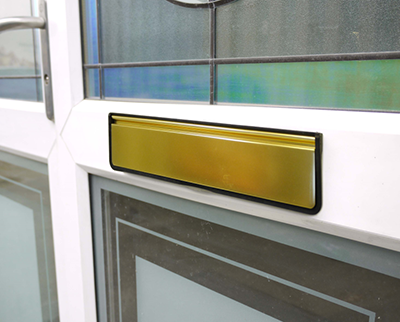 The Revolutionary DOORMASTER® Letterplate – Designed to Last