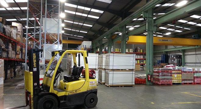 Distinction Doors open new warehouse operation in Belfast