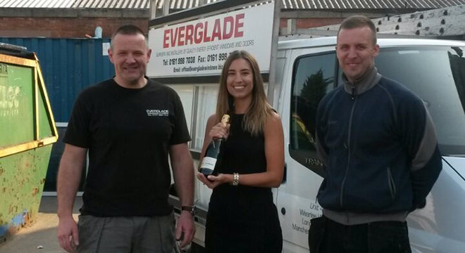 Everglade announced as The VEKA UK Group's 400th Approved Installer!