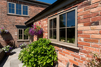 The flush sash – not just for heritage properties