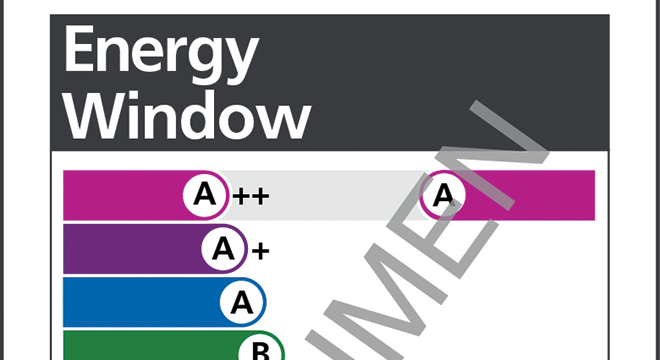 FIRST 'A++' RATING FOR ENERGY EFFICIENT WINDOWS LAUNCHED