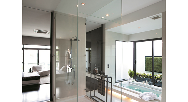 SAINT-GOBAIN GLASS TIMELESS: SHOWER GLASS THAT GOES ON LOOKING AS GOOD AS DAY ONE