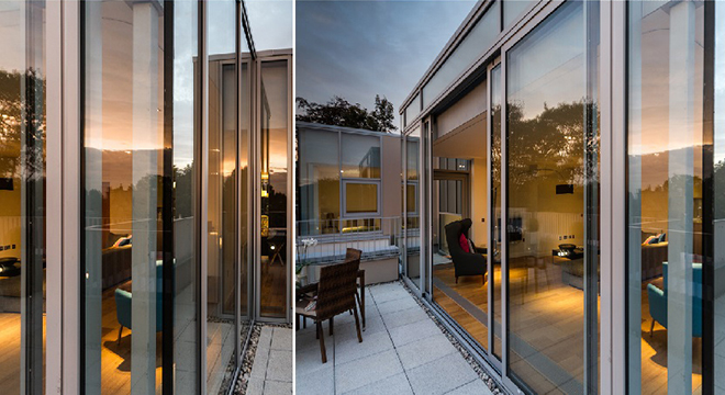 METAL TECHNOLOGY PRODUCTS ADD STYLE IN POLWARTH TERRACE