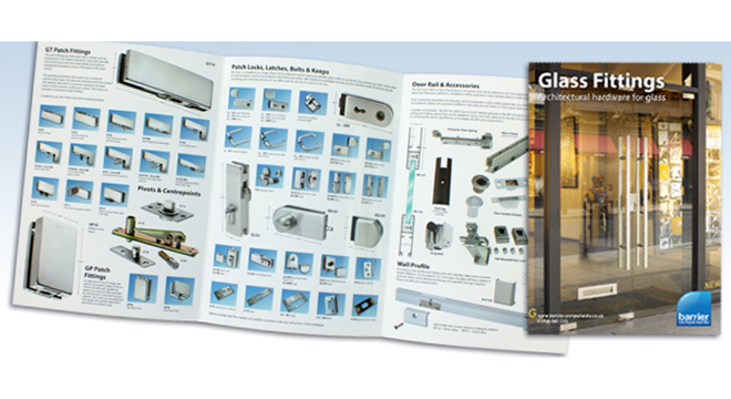 New Glass Fittings Brochure