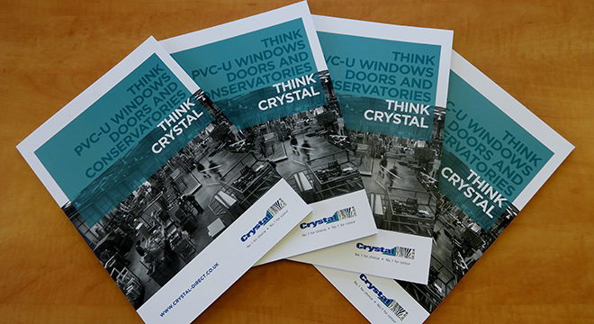 CRYSTAL SUPPORTS INSTALLERS WITH NEW CORPORATE BROCHURE