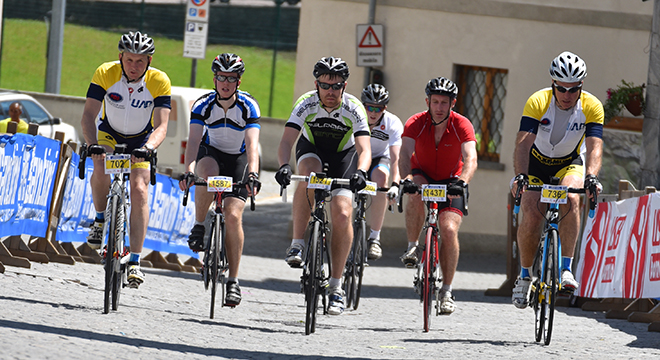 PDS successfully complete Granfondo Stelvio Santini to raise £11,140 for Springhill Hospice.