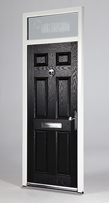 CPR2003 Polyframe has been quick to start offering composite doors in the new  REHAU outer frame 2