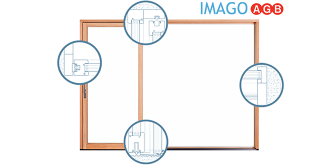 AGB: Designing in slim framed sliding doors