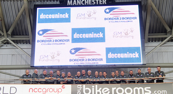 GM Fundraising Border2Border Cycling Challenge 2016 Launch Promises  'The Toughest Challenge Yet'