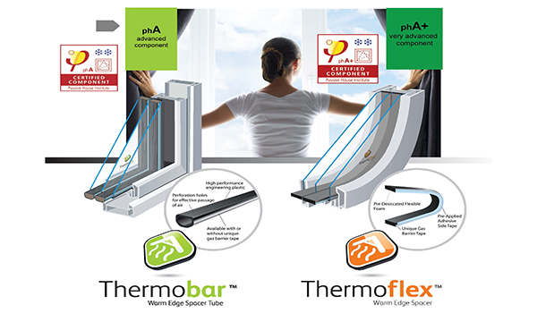 THERMOBAR AND THERMOFLEX ACHIEVE TOP PASSIVE HOUSE RATINGS
