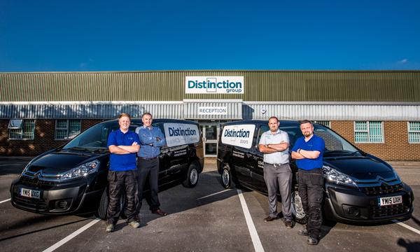 DISTINCTION DOORS' EXPERTISE HELPS MAKE THE COMPANY DISTINCTIVE