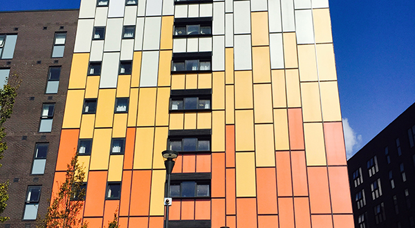 FLOAT GLASS INDUSTRIES SUPPLIES 9,500m2  GLASS FOR UNIVERSITY OF LIVERPOOL STUDENT ACCOMMODATION